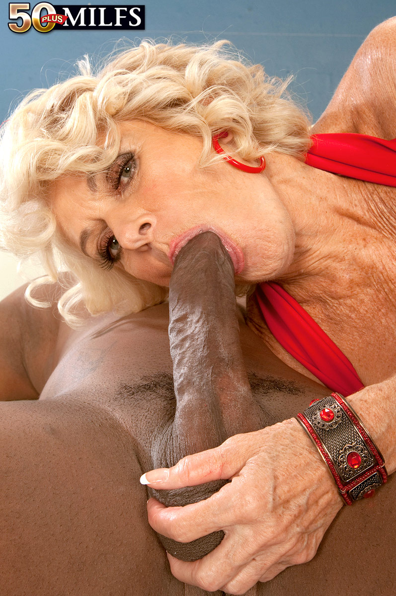 georgette parks\\\' first interracial fuck!